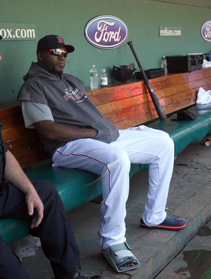 Designated Hitter David Ortiz was just one of 26 Red Sox players that spent time on the Disabled List in 2012.