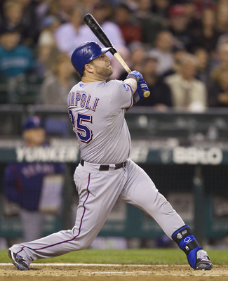 The Red Sox signed former Texas Ranger Mike Napoli to a one-year deal this week, but a hip condition is already cause for concern.