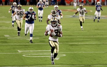 Tracy Porter's pick-six is one of the iconic plays in NFL history.