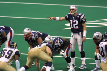 The Legend of Tom Brady began in Super Bowl XXXVI.