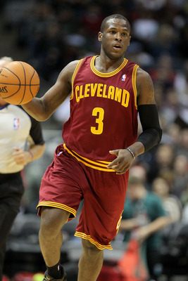 MILWAUKEE, WI - NOVEMBER 3: Dion Waiters #3 of the Cleveland Cavaliers dribbles up the court during the game against the Milwaukee Bucks at Bradley Center on November 3, 2012 in Milwaukee, Wisconsin. NOTE TO USER: User expressly acknowledges and agrees th