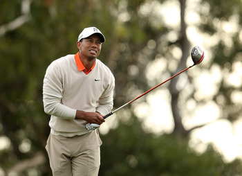 Tiger Woods is looking forward to the 2013 major championships.