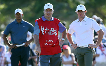 Tiger Woods, Rory McIlroy. Attached at the hip?