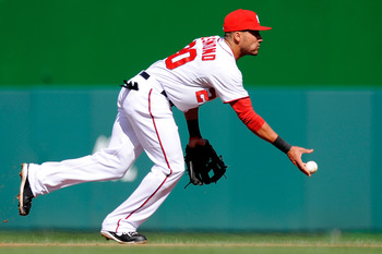 Shortstop Ian Desmond.