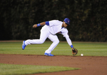 Shortstop Starlin Castro.