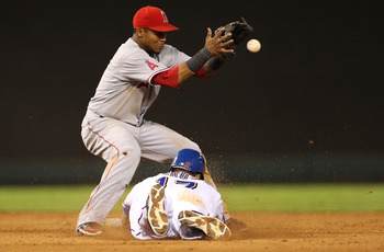 Shortstop Erick Aybar.