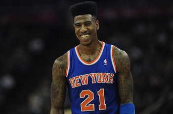 Iman Shumpert is still playing his way into basketball shape.