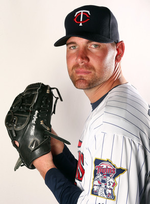 FORT MYERS, FL - FEBRUARY 19:  Mike Pelfrey #37 of the Minnesota Twins poses for a portrait on February 19, 2013 at Hammond Stadium in Fort Myers, Florida.  (Photo by Elsa/Getty Images)