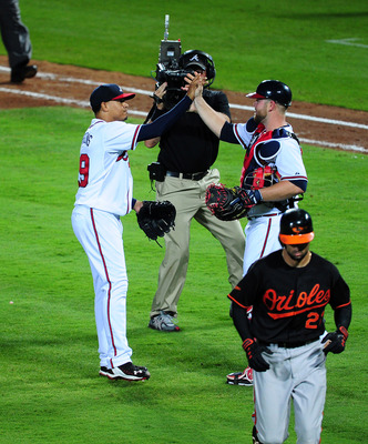 Wait...isn't that Jurrjens celebrating victory over the...?