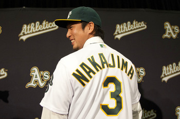 The A's introduce a new shortstop.