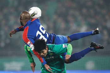 Anelka flailing with Shanghai