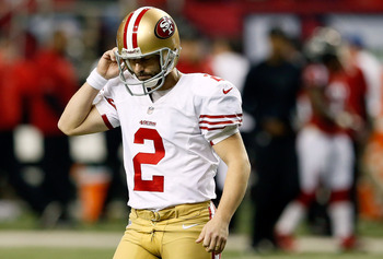 David Akers is having a rough season kicking field goals.