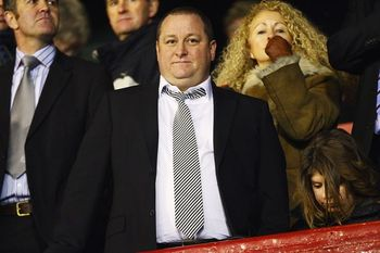 Mike Ashley must be happy with his January business