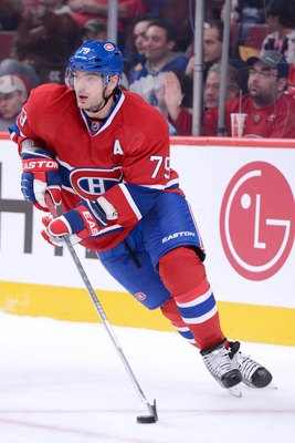 Andrei Markov of the Montreal Canadiens.