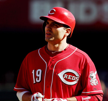 Reds 1B Joey Votto is looking to recover from a torn meniscus (left knee) suffered  in the first half of 2012.
