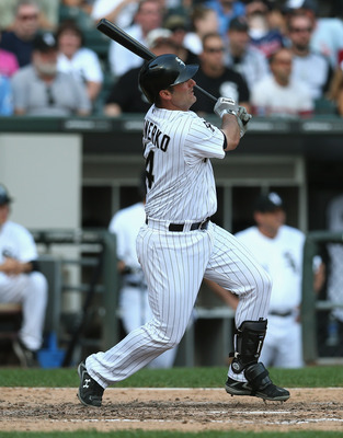 White Sox 1B Paul Konerko could be looking at retirement when the year comes to an end. If this is his last season, it is likely he will be able to go out while still providing excellent offensive production.