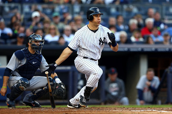 Yankees 1B Mark Teixeira gets the nod at No. 10 over Anthony Rizzo, Ike Davis and Allen Craig.