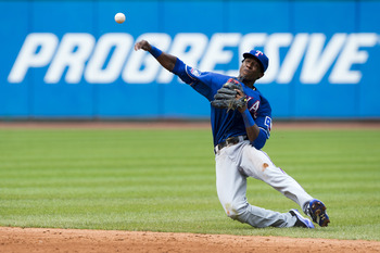 If the Texas Rangers want Giancarlo Stanton, then they will probably have to part with Jurickson Profar.