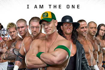 Royal Rumble 2010 Promotional Poster. (Courtesy of csscody.com)