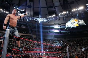 John Cena wins the 2008 Royal Rumble. (Courtesy of WWE.com)