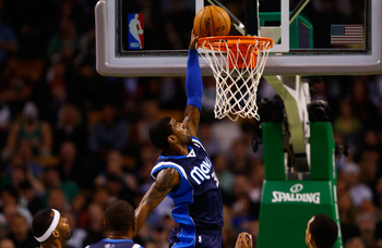 Dallas Mavericks' O.J. Mayo