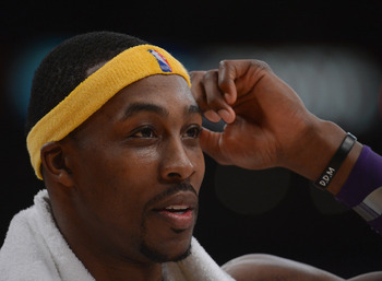 Los Angeles Lakers' Dwight Howard