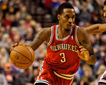 Milwaukee Bucks' Brandon Jennings