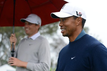 Word has it that Tiger Woods is dating Lindsey Vonn.