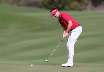 The end is near for Keegan Bradley and his anchored putting stroke.
