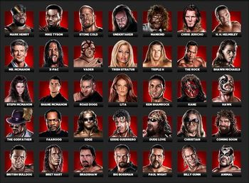 The stars of the Attitude Era should stay in the Attitude Era. Photo courtesy of WWE.THQ.com/roster