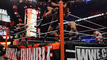 Royal Rumble Match 2011 (Courtesy of WWE.com)