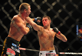 Nate Diaz crushed Jim Miller and Donald Cerrone, which is sure to keep him in the top five for months to come.