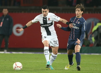 Alessandrini has shot to prominence with Rennes this season