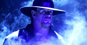 Undertaker (Photo from WWE.com)
