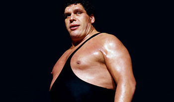 Andre the Giant (Photo from WWE.com)