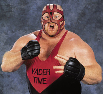 Vader (Photo from WWE.com)