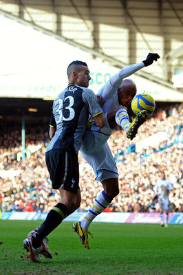 Steven Caulker did not enjoy the best afternoon.