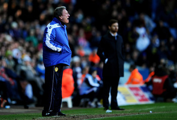 Warnock's Leeds remain in the cup, but there is one less distraction for Villas-Boas.