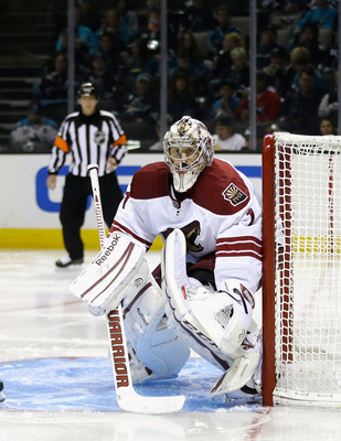 LaBarbera has been good at times for the Yotes in relief of the injured Mike Smith, but needs to be better if the Coyotes are going to win tight games.