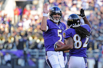 Flacco has put the ball up deep for Smith and Boldin.