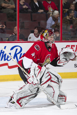 Craig Anderson has provided stability in the crease for Ottawa.
