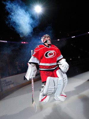 Cam Ward's bounce-back year has been anything but so far.