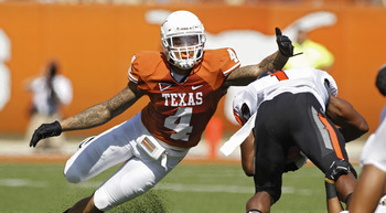 Texas free safety- Kenny Vaccaro