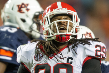 Georgia outside linebacker- Jarvis Jones