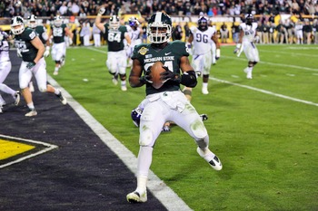 One of MSU's many early departures was the second best rusher in 2012