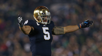 Manti Te'o is hailed by some as the best inside linebacker in the draft.