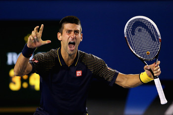 Euphoria sweeps in as Djokovic wins his 6th career Grand Slam title.