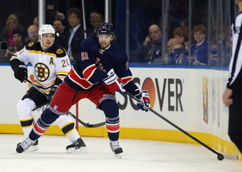 Rick Nash is the key to the Rangers offense.