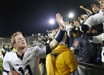 McGloin was named the starter early and benefitted from it.