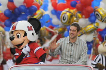 Aaron Rodgers at Disney World